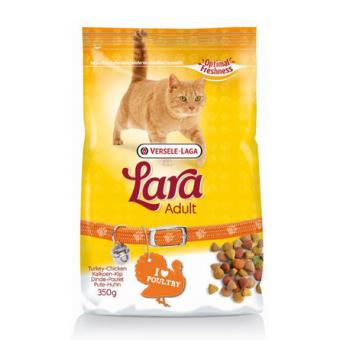 Lara 2 кг Turkey Chicken Сухой корм для взрослых кошек, с индейкой и курицей