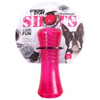 Flamingo Игрушка для собак SHOTS стик 20 см, термопласт.резина