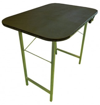 Стол 805*575*750мм  для груминга складной с колесами покрытие резина вес 8,7 кг