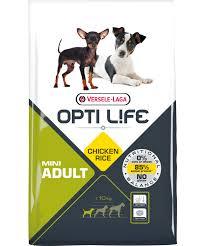 Opti Life Adult Mini 7,5кг Сухой корм для собак малых пород с курицей и рисом