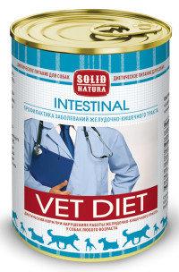 Solid Natura VET Intestinal 0,34 кг диета для собак влажный корм при проблемах работы желудочно-кишечного тракта