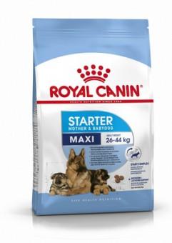 Royal Canin Maxi Starter 4кг для щенков крупных пород 3 нед. - 2 мес., беременных и кормящих сук