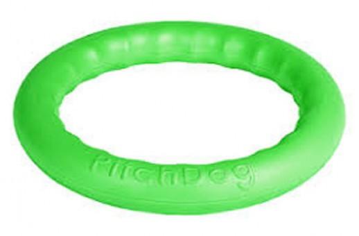PitchDog 30 - Игровое кольцо для аппортировки d 28 зеленое