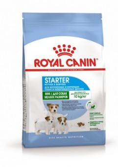 Royal Canin 1кг Mini starter Для щенков mini с отъёма до 2х месяцев