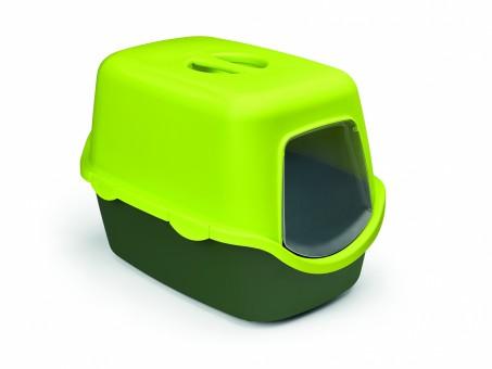 Stefanplast Туалет 56*40*40см закрытый Cathy Trendy Colour, салатово-зеленый,