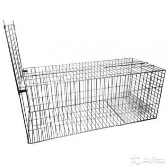 Клетка 1200*500*500выс для отлова животных металл