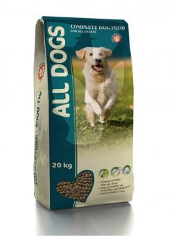 All Dogs 15кг повседневный полнорационный корм для собак.