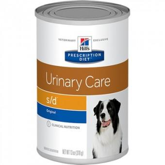 6шт Hill's 370г Canine s/d для растворения струвитных уролитов консервы для собак