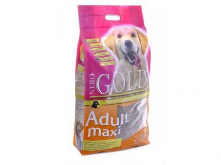Nero Gold 18 кг Adult maxi 26/16 Сухой корм для взрослых собак крупных пород, курица