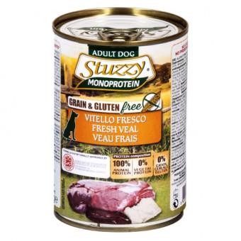 Stuzzy Monoprotein 400г консервы для собак, телятина