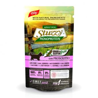 Stuzzy Monoprotein 150г Влажный корм для взрослых собак всех пород с говядиной и черникой