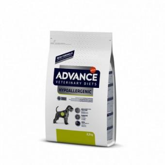 Advance 2,5 кг.Hypo Allergenic Гипоаллергенный корм для собак с проблемами ЖКТ и пищевыми аллергиями