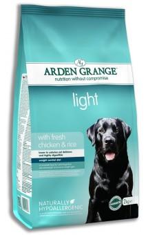 Arden Grange 2 кг Adult light Сухой корм диетический низкокалорийный для взрослых собак