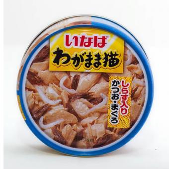 Inaba 115г влажный корм для кошек с японским тунцом и сардинами