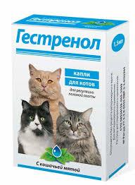 Гестренол таблетки 10 таб для котов