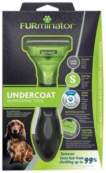 Furminator (Фурминатор) S для мелких собак с длинной шерстью