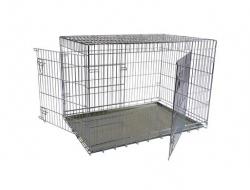Papillon Wire cage 2 doors 150287  Клетка металлическая с 2 дверками, 87*58*67см