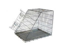 Papillon Wire cage with slope side 150397  Клетка металлическая с уклоном, 97*64*70см