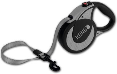 KONG рулетка Ultimate XL (до 70 кг) лента 5 метров серая