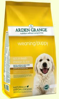 Arden Grange 2 кг Weaning puppy Сухой корм гипоаллергенный для щенков, для беременных и кормящих сук