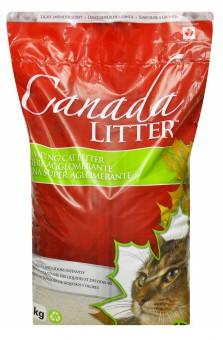 Canada Litter 12 кг Комкующийся наполнитель Контроль запаха (Dust Free) с ароматом лаванды