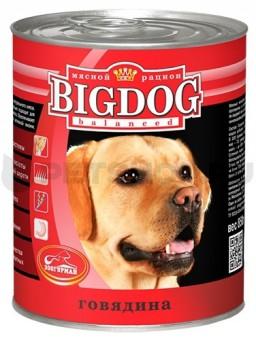 Зоогурман 850гр Консервы для собак BIG DOG говядина с рубцом