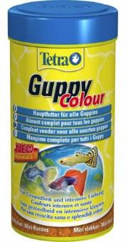 TetraGuppy Colour 100мл корм для гуппи для улучшения окраса