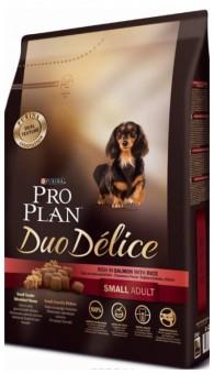 Pro Plan 2,5кг Duo Delice для собак мелких пород  с лососем