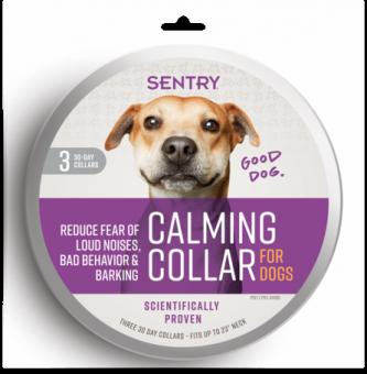 SENTRY Calming Collar Ошейник для собак успокаивающий с феромонами, 3шт