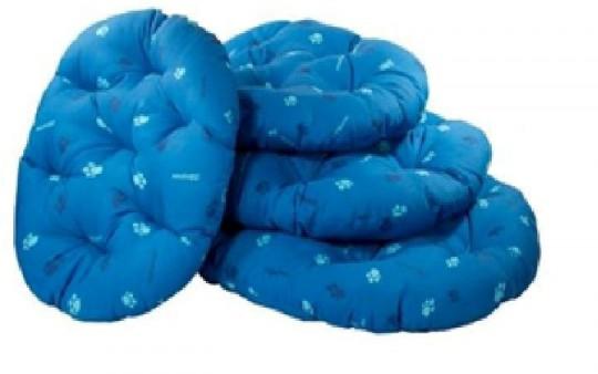 Yami-Yami 50*40*8см Перина овальная  синяя синтепух