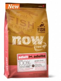 Now Fresh 11,35 кг Dog Grain Free Adult Trout, Salmon, Herring & Coconut Oil Беззерновой сухой корм для взрослых собак с форелью, лососем, сельдью и кокосовым маслом