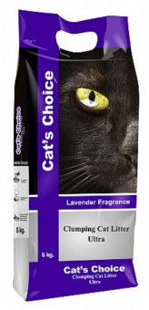 Indian Cat Litter Cat's Choice Lavender наполнитель 5 кг