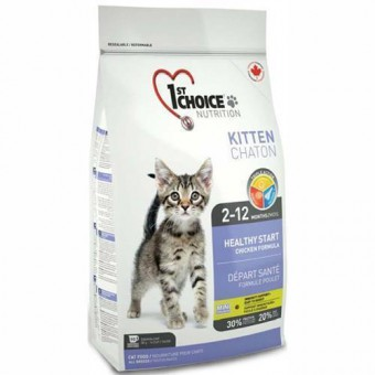 1st Choice 0,907 кг Kitten для котят, цыпленок