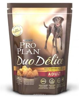 Pro Plan 10кг  Duo Delice для взрослых собак  с курицей