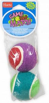 Hartz Game Match Dog Toy 2 теннисных мяча, маленьких Игрушка для собак