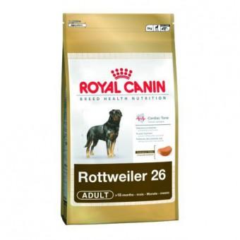 Royal Canin 12кг Rottweiler 26 adult Для собак породы ротвейлер старше 18 месяцев