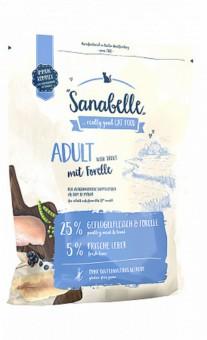 Sanabelle 2 кг Adult с форелью сухой корм для кошек