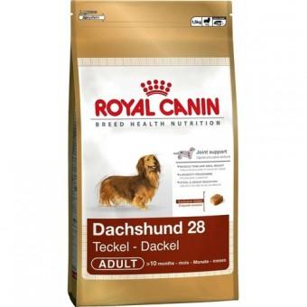 Royal Canin 7,5кг Dachshund 28 adult Для собак породы такса старше 10 месяцев