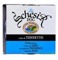 Schesir 150 г. Тунец, консервы для собак