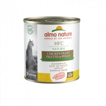 Almo Nature 280г Classic HFC Adult Cat Chicken Fillet Консервы для Кошек Куриное филе