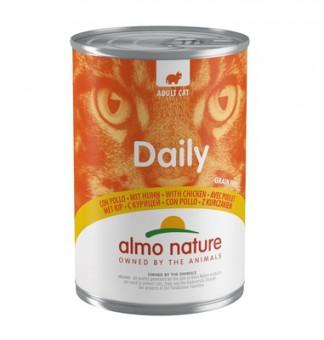 Almo Nature 400г Daily Menu Chicken Консервы для кошек Меню с Курицей