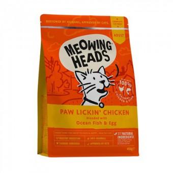 Barking Heads 4кг Paw Lickin' Chicken Для Взрослых кошек с Курицей и рисом Куриное наслаждение