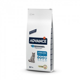Advance 0,4кг Sterilized Turkey для стерилизованных кошек с индейкой