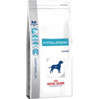 Royal Canin 7кг Hypoallergenic DR21 Диета для собак с пищевой аллергией или непереносимостью