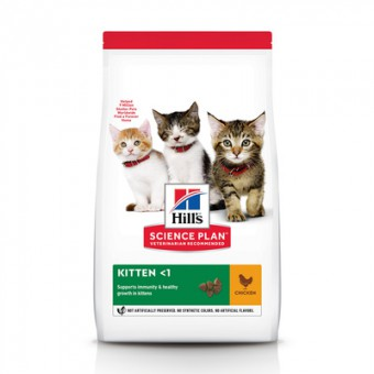 Hill's Science Plan 300г Healthy Development сухой корм для котят для здорового роста и развития, с курицей