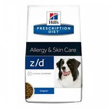 Hill's 8кг Prescription Diet Z/D для собак лечение острых пищевых аллергий, Canine Z/D Ultra Allergen-Free