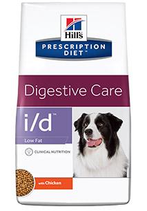 Hill's 1,5кг Hill's Prescription Diet I/D Low fat для собак лечение заболеваний желудочно-кишечного тракта, низкокалорийны