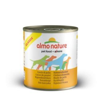 4шт Almo nature 95гр Консервы для собак куриные бедрышки