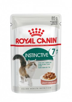 Royal canin 85г Instinctive +7 Влажный корм для кошек старше 7 лет в соусе