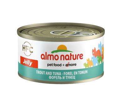 Almo Nature 70гр с форелью и тунцом консервы для кошекLegend Adult Cat Trout&Tuna